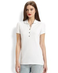 Burberry Brit Polo Shirt - Lyst