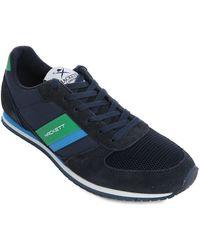 Hackett Street Navy Sneakers - Lyst