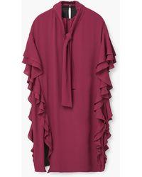Mango | Ruffled Dress | Lyst