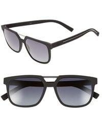 Dior '220S' 55Mm Sunglasses black - Lyst