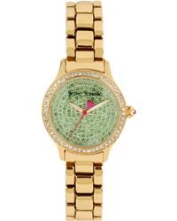 Betsey Johnson Womens Goldtone Bracelet Watch 27mm 07 - Lyst