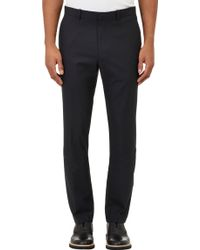 Theory Gray Marlo Trousers - Lyst