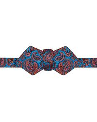 Duchamp Paisley Bow Tie - For Men - Lyst