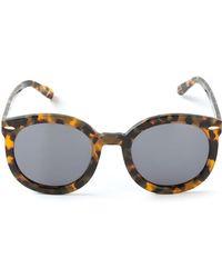 Karen Walker 'Super Duper Strength' Sunglasses - Lyst