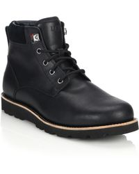 Ugg | Seton Wool-lined Utility Boots | Lyst