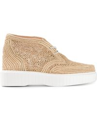 Robert Clergerie Stitched Design Shoes - Lyst