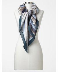 Gap Painterly Stripe Scarf - Lyst