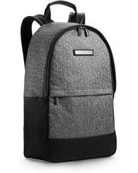 Calvin Klein White Label Brett Logo Backpack gray - Lyst