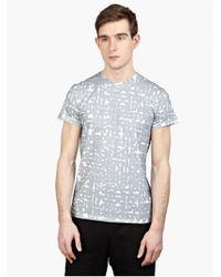 Jil Sander Men'S Logo Printed T-Shirt - Lyst