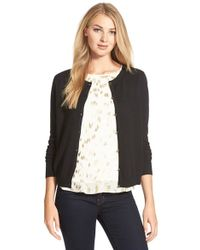 Cece by Cynthia Steffe | Cotton & Cashmere Cardigan | Lyst