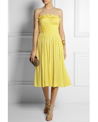 Sophia Kokosalaki - Arke Strapless Stretch-jersey Dress - Lyst
