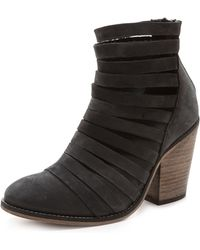 Free People Hybrid Booties Tan - Lyst