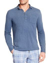 Polo Ralph Lauren Jersey Estate Shirt blue - Lyst