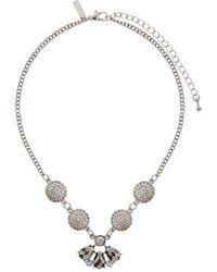 Topshop Metallic Multipack Necklace - Lyst