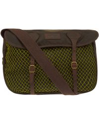 Barbour - Olive Heckam Fishing Bag - Lyst