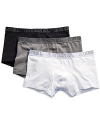 Diesel Three Pack Boxer Trunks - Lyst