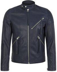 Acne Studios Padded Biker Jacket - Lyst