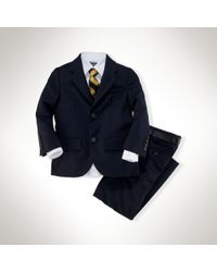 Ralph Lauren - Polo I Wool Twill Suit - Lyst