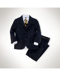 Ralph Lauren - Polo I Wool Twill Suit - Lyst