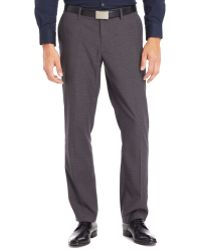 Kenneth Cole Reaction Checked Dress Pants - Lyst