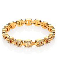 Michael Kors Heritage Maritime Chain Tennis Bracelet - Lyst