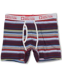 Kenneth Cole Reaction Red Stripe Boxer Brief - Lyst