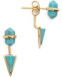 Samantha Wills - Outsiders Earrings - Turquoise/Gold - Lyst