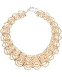 Nakamol Scalloped Crystal Collar Necklace - Lyst