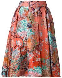Mary Katrantzou 'Bowles' Skirt - Lyst