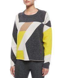 Rag & Bone - Hilary Geometric Pullover Jumper - Lyst