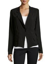 Donna Karan New York Fluid One-Button Jacket - Lyst