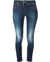 Dondup Skinny Jeans - Lyst