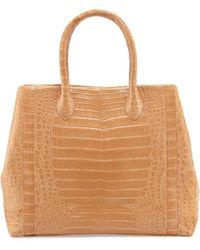 Nancy Gonzalez Crocodile Weekend Tote Bag - Lyst