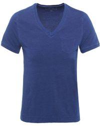 Circolo 1901 - V-neck T-shirt - Lyst