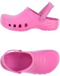 Scholl Pink Slippers - Lyst