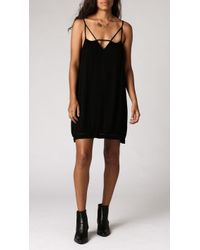 Azalea Barlow Strappy Dress black - Lyst