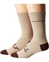 Life Is Good. - Lig Crew Socks - Lyst