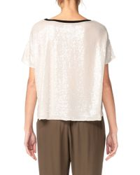 Laurence Doligé - Short Sleeve Top - Lyst