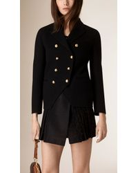 Burberry | Cashmere Military Jacket | Lyst