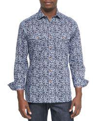 Robert Graham Forest Printed Sport Shirt - Lyst
