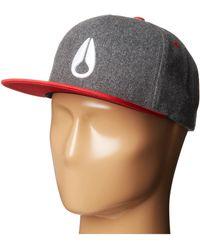 Nixon Simon Snapback Hat - Lyst