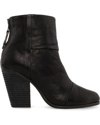 Rag & Bone Newbury Boot In Black black - Lyst