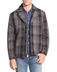 Timberland - 'traveler Mountain - Dock' Plaid Flannel Coat - Lyst