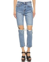 UNIF - Cited Jeans - Med Blue - Lyst