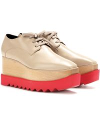Stella McCartney B Platform Brogues - Lyst