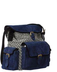 Leon & Harper - Town Bag Oxford Ac06 Losange - Lyst