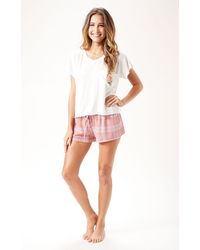 Wildfox Rose Pocket Romeo T - Lyst