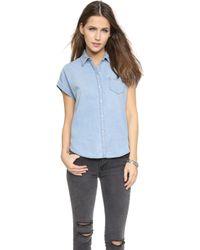 Joe's Jeans Andee Button Down Shirt - Stevie - Lyst