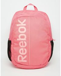 Reebok - Backpack - Black - Lyst