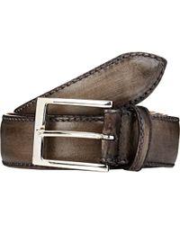 Harris Leather Belt - Lyst